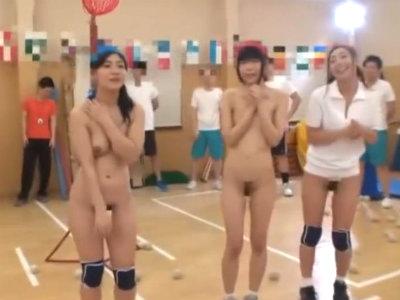 羞恥!ブルマームラムラおっぱいプルプル 男子生徒や教諭に全裸見られまくり!